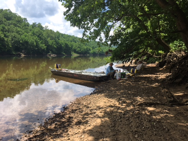 Lunch on the White River